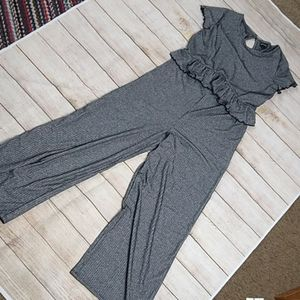 New Girls gray and silver pant jumpsuit